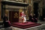 私下告別樞機團 教宗低調隱退|羅馬