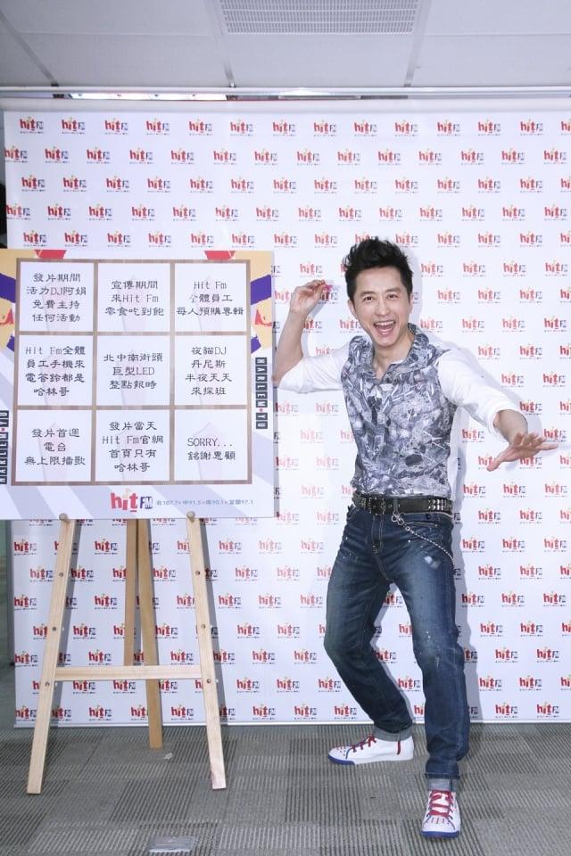 睽違7年,庾澄慶推出全新創作專輯《關不掉的月光》。(Hit_Fm提供)