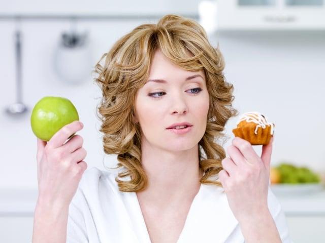有減重需求的,應多食用高纖維質的食物,少攝取高GI值的精緻甜點。(Photos)