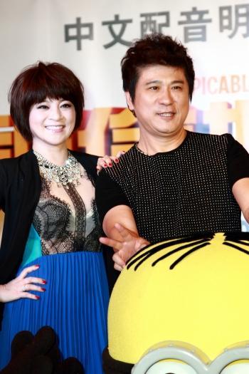 (左起)王彩樺、胡瓜。(記者丘普林/攝影)
