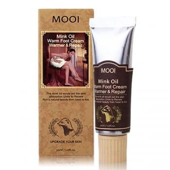 MOOI 黃金貂油暖暖護足霜。(MOOI 提供)