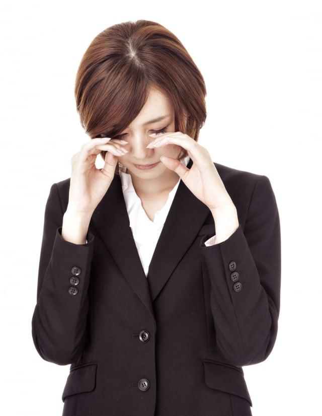 甲狀腺機能亢進,引起眼無法閉合。(Fotolia)