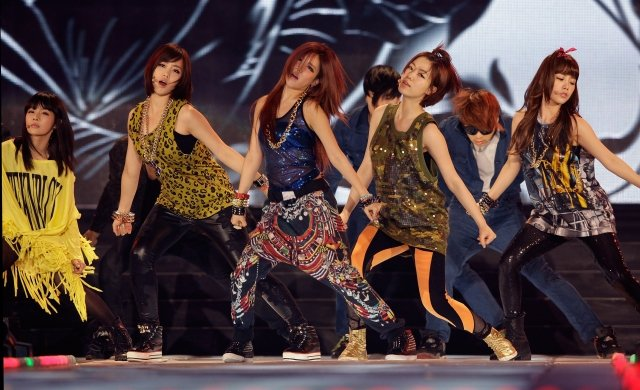 韓國女子組合T-ara。(Getty Images)