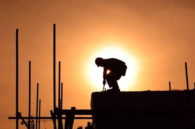 近日,經濟學家預測,中國增長在未來3年裡將下跌到3%。(AFP)