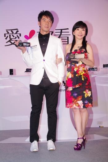 李李仁&陶晶瑩。(攝影/記者黃宗茂)