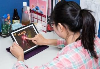 知名遊戲《Fruit Ninja 水果忍者》與台灣果農合作,讓玩家砍水果時,也能直接向台灣果農訂購各種水果,以公益方式,透過全新的跨界行銷模式,協助果農行銷國際。(記者陳柏州/攝影)