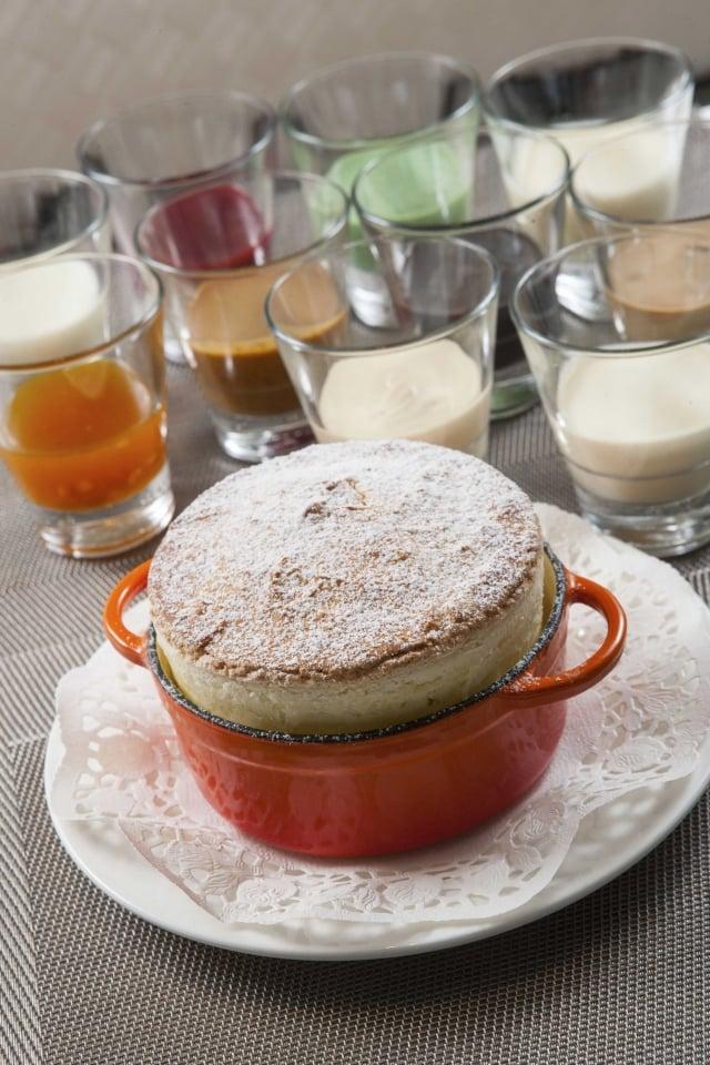 麗緻巴賽麗招牌菜色_12種口味的小酒館舒芙蕾文/藍悅真 圖/亞都麗緻提供