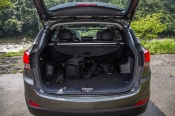 後行李廂空間最大容量1,436L,可靈活運用。(攝影/記者莊孟翰)