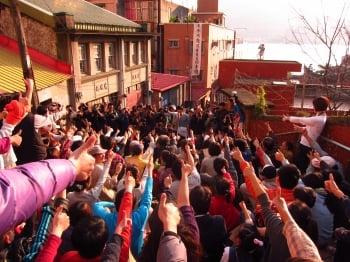 搶救重建街,數百人集結按讚。(讚滿重建街聯盟志工施俊宏提供)