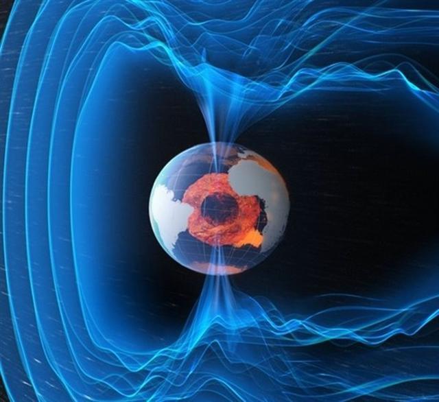 地球磁場(沙莉/攝影)