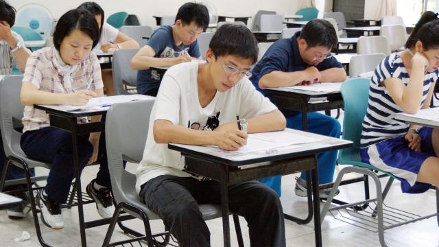 未來大學指考將由「新型學測」和「分科測驗」所取代,前者擬在寒假舉行,後者暫訂5月舉辦。(記者陳柏州/攝影)
