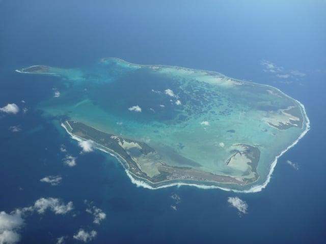 """Autoridades malaias são dois """"corredores"""" de ar para encontrar o avião desaparecido, na foto Malaca garganta Seção Ilhas.  (Wikipedia)"""