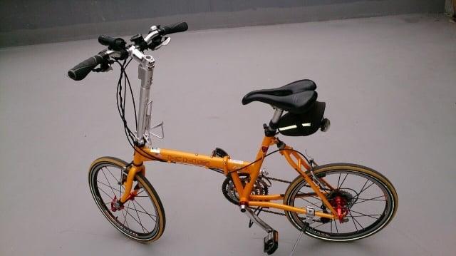 無論是公路車、小摺、淑女車等自行車,只要立管直徑相符都能安裝「一把抓」。(超常科技提供)