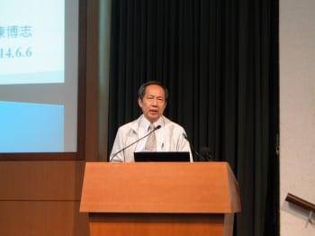 前經建會主委陳博志以幾項論點,道出服貿謊言要穴。(記者李芳如/攝影)