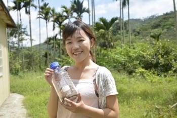 喜悅有機農園收成的綠花椰菜種子。(記者鄧玫玲/攝影)