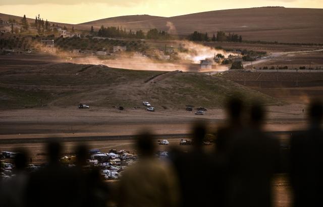 抗伊斯蘭國 美軍對庫德族空投
