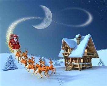 聖誕老人送禮壓力山大 雪橇需3千倍音速