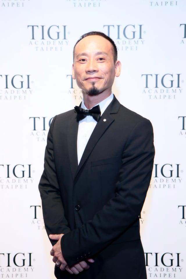 提碁(TIGI)台灣區總經理陳崇誠。(台灣提碁提供)
