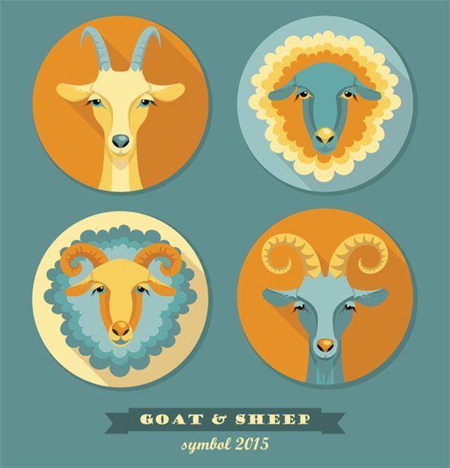 華人生肖屬相只是地支的對應,羊有金木水火土之分,卻沒有山羊、綿羊之分。(Fotolia)