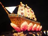 台中市長點燈 全球最大「花燈法船」啟航|台中 | 黃色小鴨 | 海洋音樂季