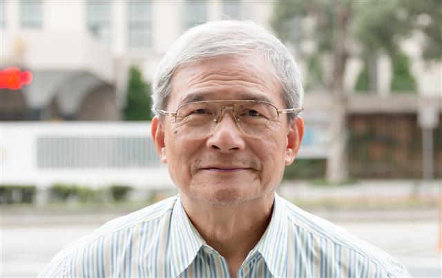 前國防部長蔡明憲(黃柏彰攝影)