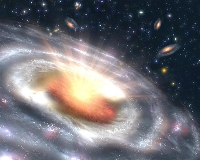 目前科學家認為,我們所處的宇宙只是無數浩瀚天體中的一個,還有其他形式的宇宙存在。(圖片來源:NASA)