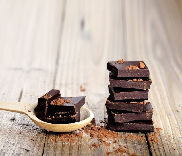 黑巧克力(fotolia)