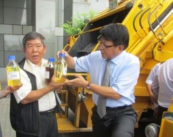 屏縣率先推動  垃圾車使用純生質柴油