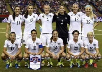 女足世界盃/美國2:0擊敗德國 連2屆踢進決賽
