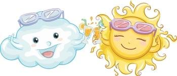 【童詩創作】太陽、雲和風