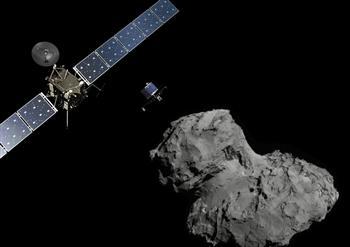 科學家:彗星67P發現生命確切證據