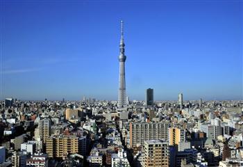 東京晴空塔有把「來自外太空的寶刀」