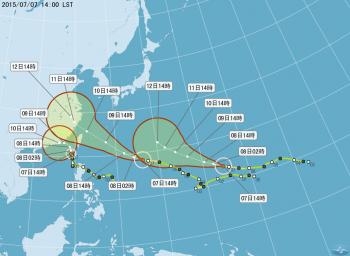 蓮花颱風剛走 昌鴻擬9日發海警