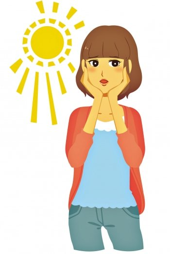 5種天然防晒食物 夏天晒不黑