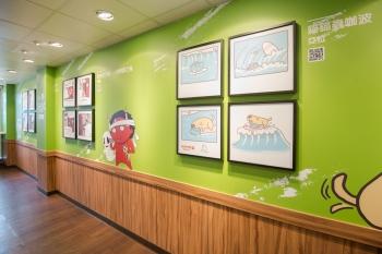 LINE結合酷聖石 打造主題冰淇淋店