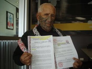 參與訴江大潮 紐西蘭毛利酋長控告江澤民