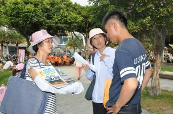 聲援陸民告江 高雄逾5千民眾連署