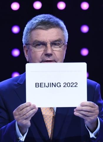 2022冬奧會 外媒:在北京辦不妥