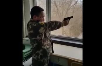 影片:北韓士兵是這樣練射擊的?第六秒的時候重點來了!