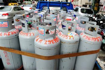 桶裝瓦斯調降2.9元 20公斤每桶省58元