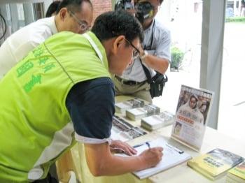 舉報江澤民 亞洲逾35萬人連署聲援
