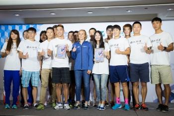 鐵人三項/來台傳承鐵人經驗 奧運金牌女將:信心來自訓練