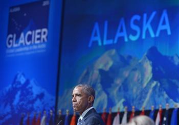 歐巴馬訪北極圈時中共軍艦現身 非巧合