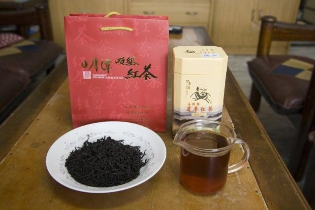 達摩紅茶。(攝影/王懿德)