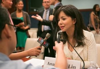 無懼中共威脅 加世界小姐為人權發聲