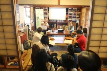 在李榮春文學館 阿伯講古-林文義 對談