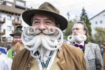 組圖:2015世界鬍鬚錦標賽上的美髯公