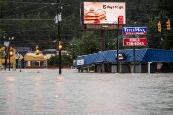 美南卡暴雨「千年一遇」 已釀8死
