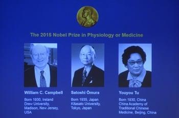 諾貝爾醫學獎公布 3學者共享