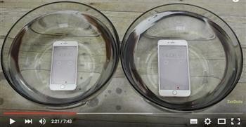 iPhone 6S泡水放烤箱和冷凍櫃的結果